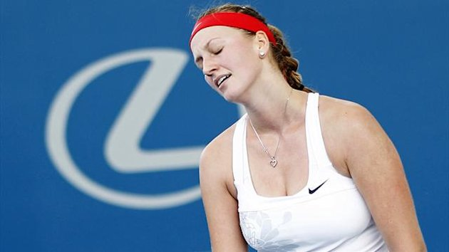 Petra Kvitova of the Czech Republic, 2013 (Reuters)