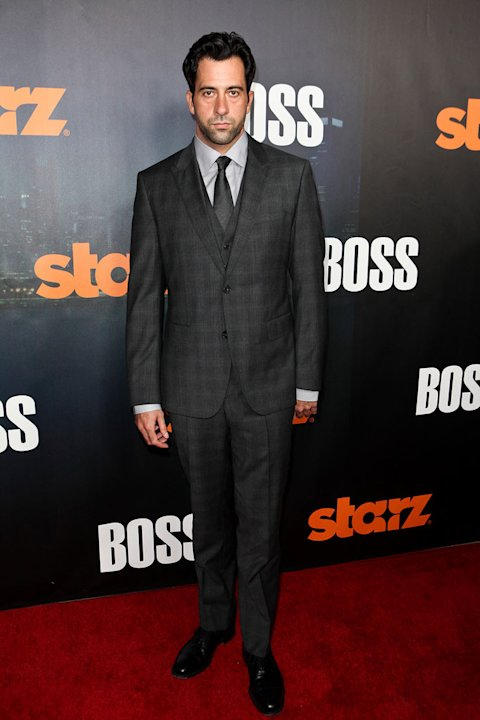 "Troy Garity arrives at the premiere of Starz's ""Boss"" at ArcLight Cinemas on October 6, 2011 in Hollywood, California."