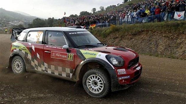 Dani Sordo Mini Rally Portugal WRC 2012