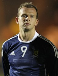 Jordan Rhodes is set to replace Jamie Mackie in Scotland's line-up