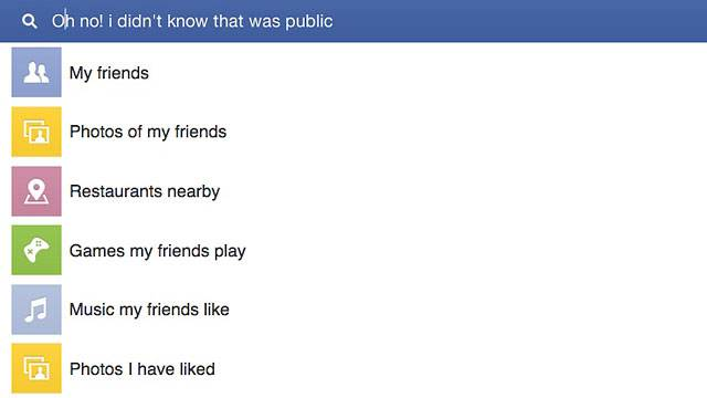 Facebook Graph Search Privacy Tips