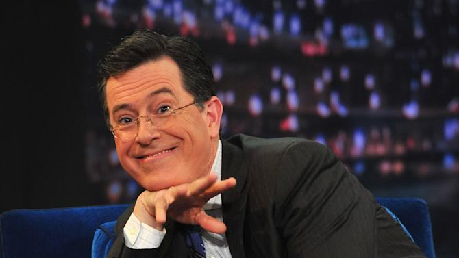 """Stephen Colbert Visits """"Late Night With Jimmy Fallon"""""""