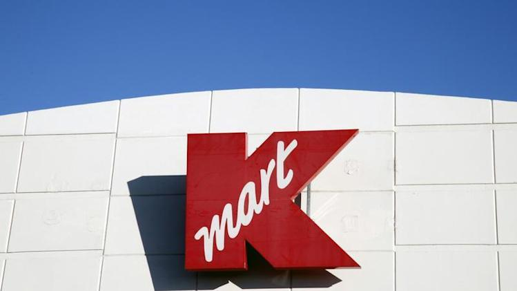 The sign outside the Kmart store is seen in Broomfield