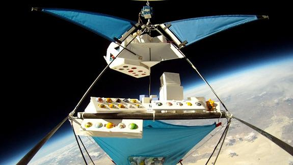 Ping Pong Ball 'Satellites' Have Balloon Ride to Edge of Space