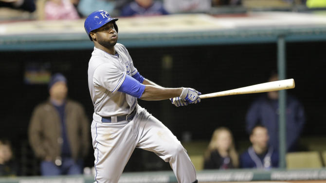 Royals' Lorenzo Cain drops appeal, begins serving suspension