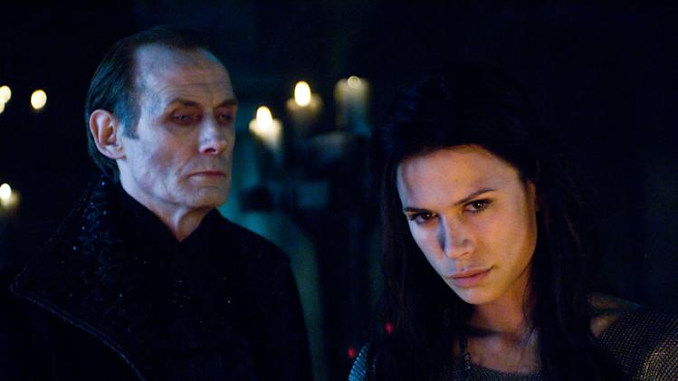 Bill Nighy Rhona Mitra Underworld: Rise of the Lycans Screen Gems 2009