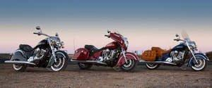 Indian Motorcycle Hits the Streets of L.A., New York and Beyond With the New 2014 Indian Chief Lineup at the Progressive(R) International Motorcycle Shows