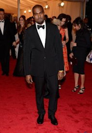 Kanye West solito en la Gala del MET /WireImage