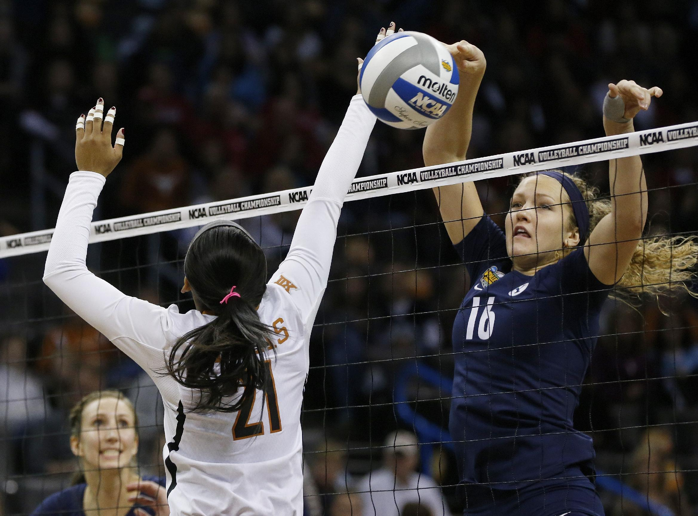 BYU upsets Texas, reaches NCAA volleyball final