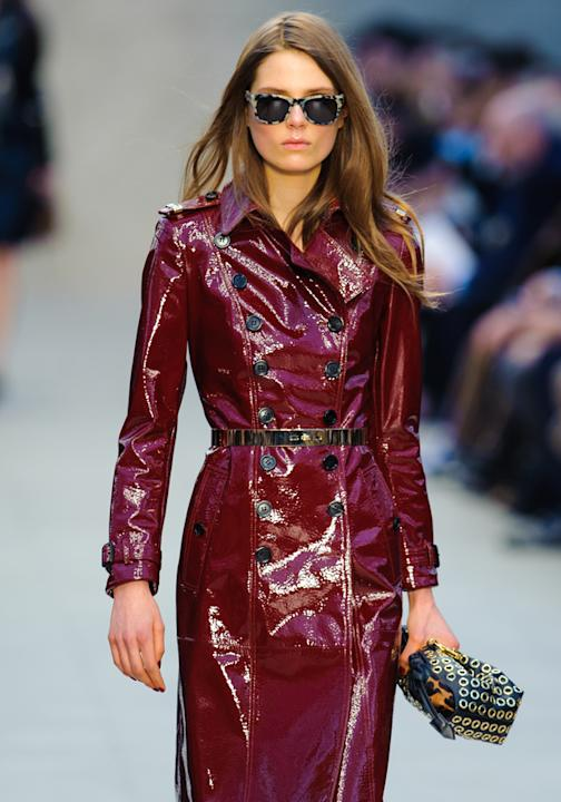London Fashion Week 2013: Burberry Prorsum runway
