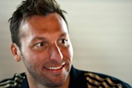 Ian Thorpe speaks to reporters during a press conference in London on July 26. He vowed to continue swimming despite the London setback and told Australia's ABC Television his compatriots' lacklustre campaign in the face of fierce competition had not dimmed his enthusiasm for the pool