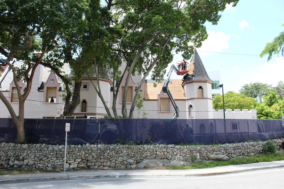 Preservation Watch: Petit Douy, Brickell Avenue's Little Chateau, is Being Restored