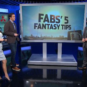 Fabs' Fantasy Tips: Target RBs and WRs early