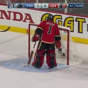 Vancouver Canucks at Calgary Flames - 04/25/2015