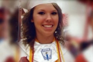 Valedictorian Kaitlin Nootbaar, Prague High School, Prague Oklahoma - KFOR image