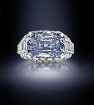 Whoa! Rare Blue Diamond Fetches Record $9.6 Million