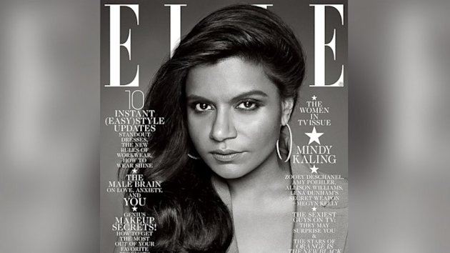 Mindy Kaling Defends Elle Cover (ABC News)