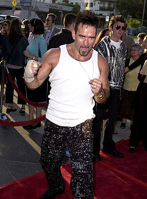 Trevor Goddard at the L.A. premiere of MGM's Original Sin