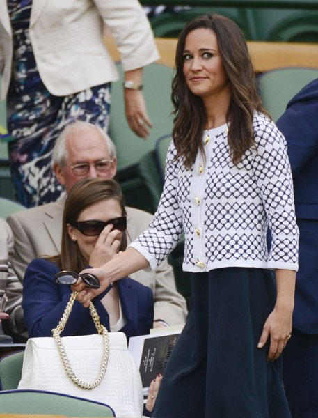 Pippa Middleton's Wimbledon 2012 Wardrobe? Orla Kiely, Givenchy and Ermanno Scervino