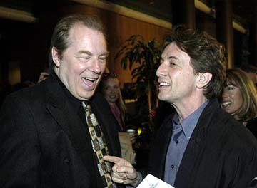 """Primetime Glick"" stars Michael McKean and Martin Short at the Hollywood premiere of Warner Bros. A Mighty Wind"