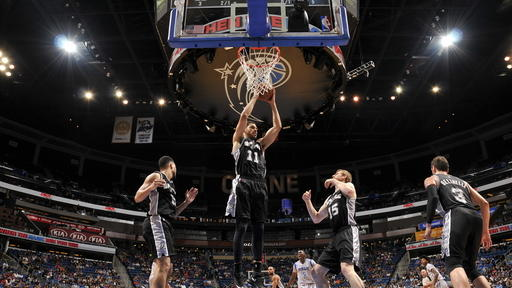 Spurs secure playoff berth with 103-91 win over Magic