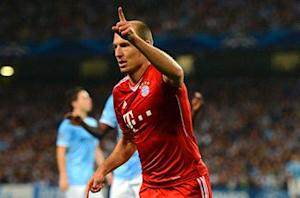 Robben: Injury behind substitute role