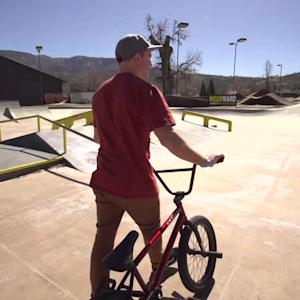 Camper, Counselor & BMX Pro Brian Kachinsky at Camp Woodward