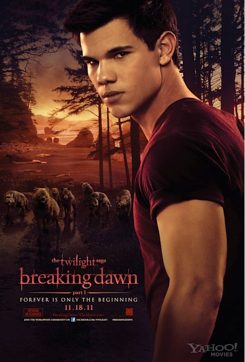 Twilight Saga Breaking Dawn 2011 Taylor Lautner Banner