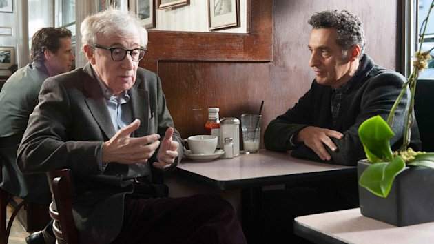 Woody Allen and John Turturro in 'Fading Gigolo' (Photo: Millennium Entertainment)