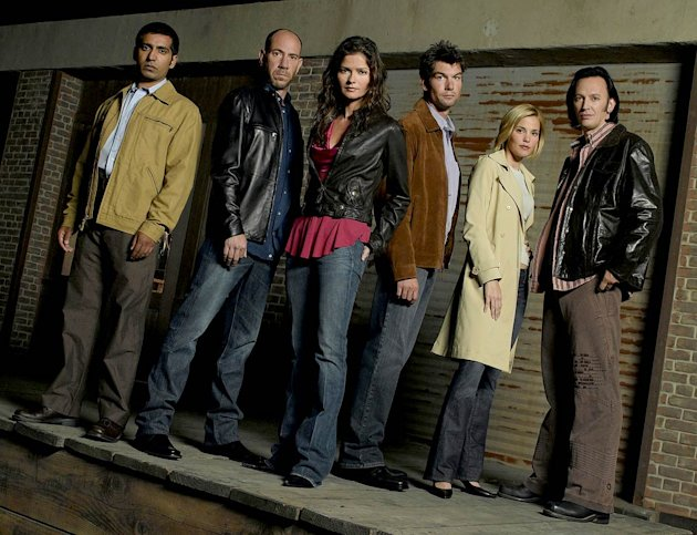 The cast of Crossing Jordan on NBC.