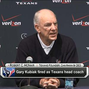 Houston Texans owner Robert McNair on why Gary Kubiak was fired FOR SOCIAL