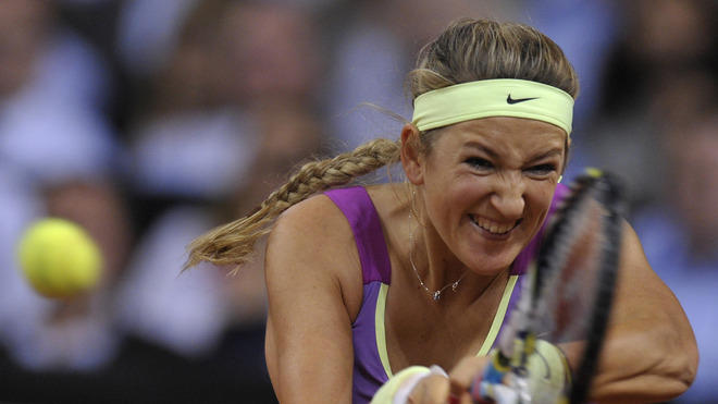 Belarus' Victoria Azarenka Returns AFP/Getty Images