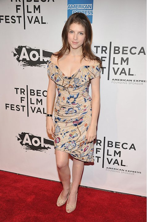 2011 Tribeca Film Festival The Union Premiere Anna Kendrick