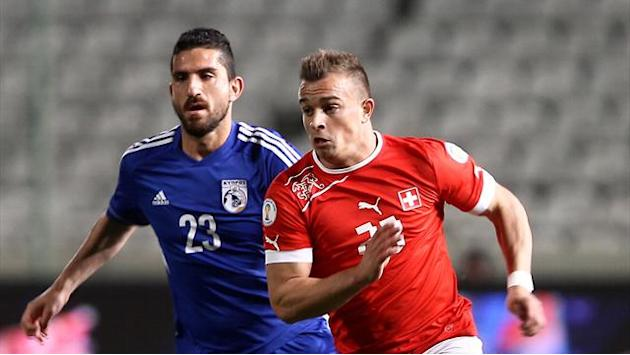 World Cup - Battling Cyprus frustrate Switzerland in goalless draw
