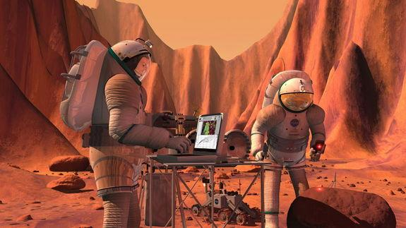 Future Mars Missions: Can Humans Trump Robots?