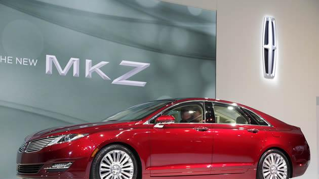 2013 Lincoln MKZ 2.0 liter gas electric hybrid