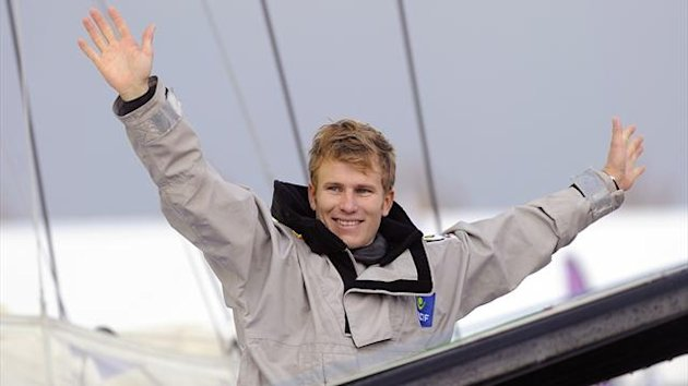 Francois Gabart wins the Vendee Globe (AFP)