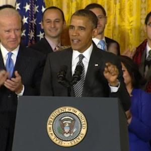 Obama says immigration system 'broken,' pushes for reform