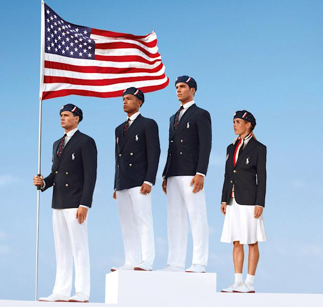 U.S. Opening Ceremony uniforms