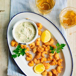 Crayfish Scampi: Food: Recipe: Red Online