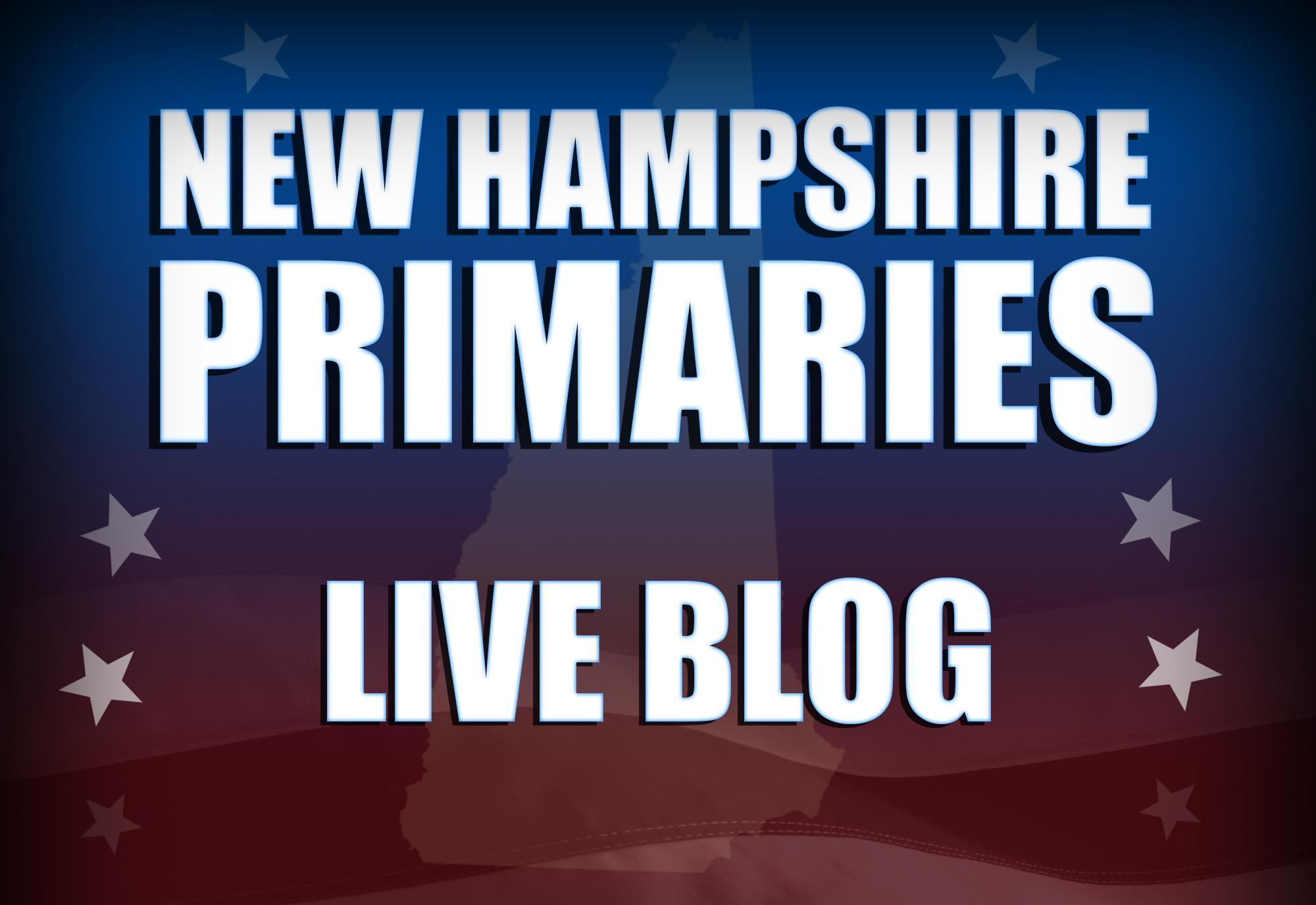 Live coverage: All-day, all-night New Hampshire primary updates
