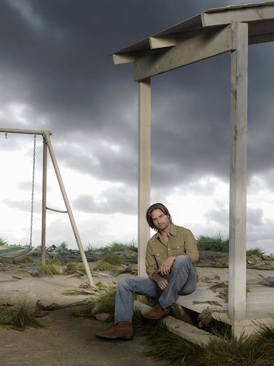 "Josh Holloway stars as Sawyer on ""Lost."""