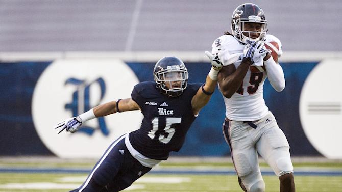 Turnovers lift Rice over Florida Atlantic 18-14