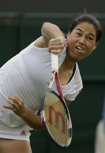 Hampton of US pulls off upset in Wimbledon debut