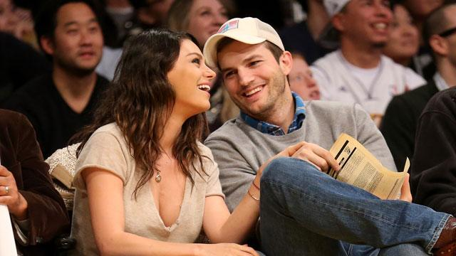 Ashton Kutcher & Mila Kunis Wed in Secret Ceremony!