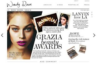 Makeup Artist Wendy Rowe&amp;#39;s Much Anticipated Beauty Site Goes Live TOMORROW And We Cannot Wait!