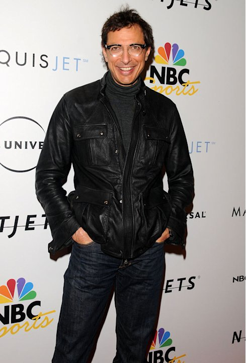 Jeff Goldblum arrives on the red carpet on the NBC Universal Pre Super Bowl event at Portofino on January 31, 2009 in Orlando, Florida