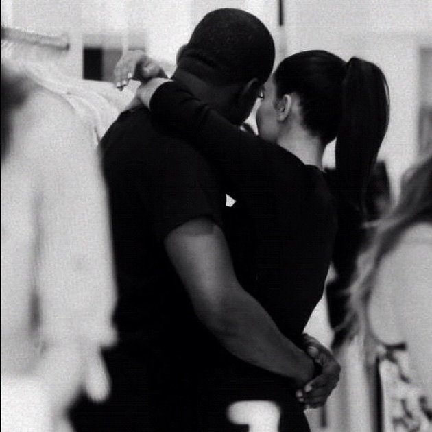 Celebrity photos: Kim Kardashian and Kanye West seem more loved up with every passing week. Kim tweeted a cute photo of the pair this week alongside the caption: Me and my angel. Aww.