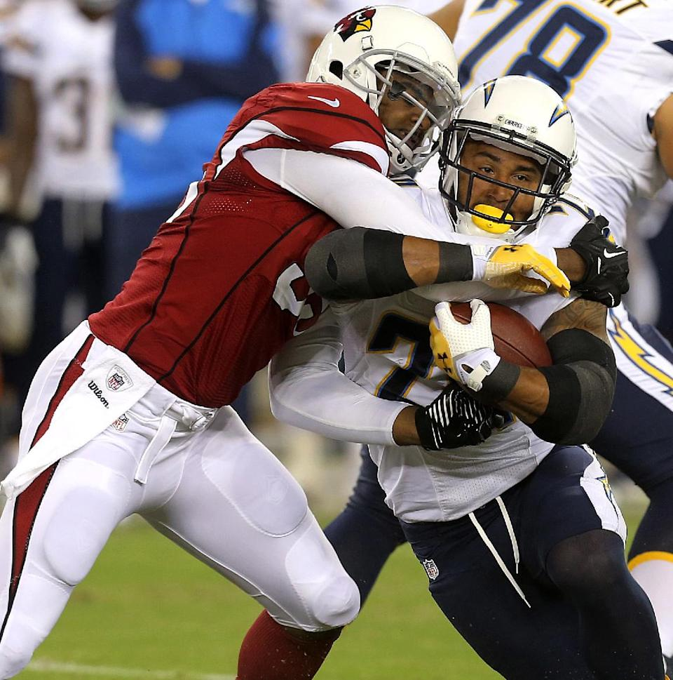 Chargers take advantage of mistakes, beat Arizona