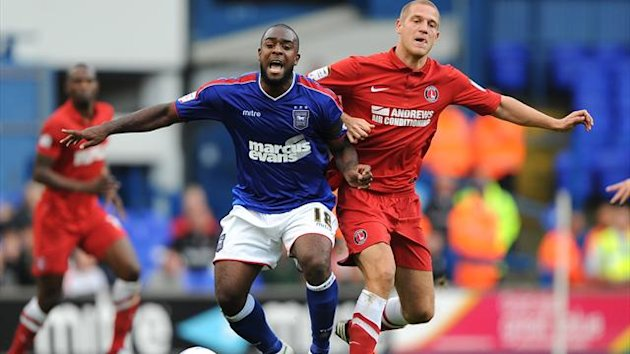 Nathan Ellington, left, is a free agent after being released by Ipswich